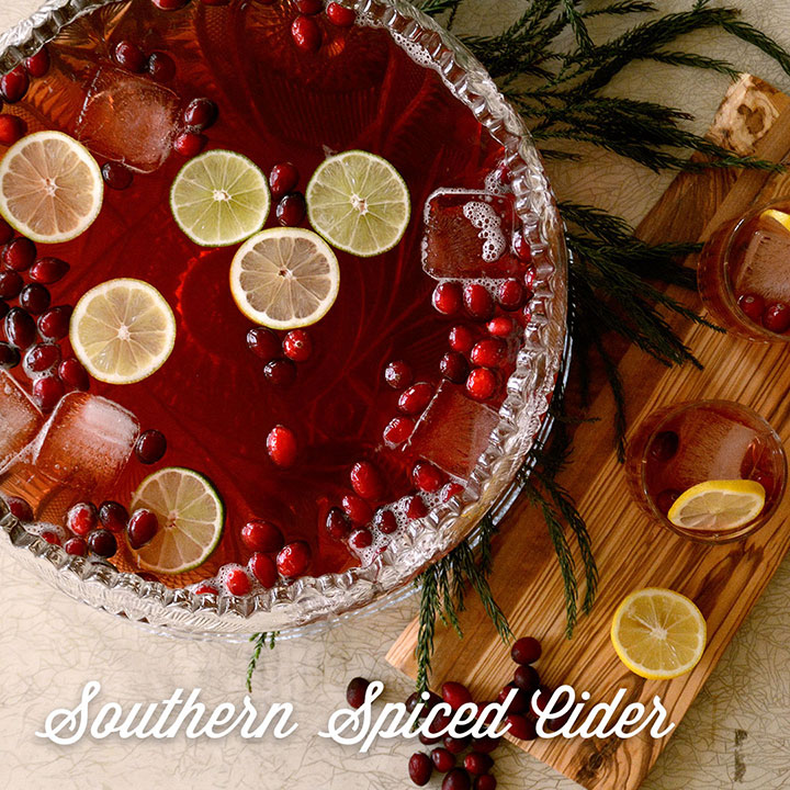 Southern Spiced Cider