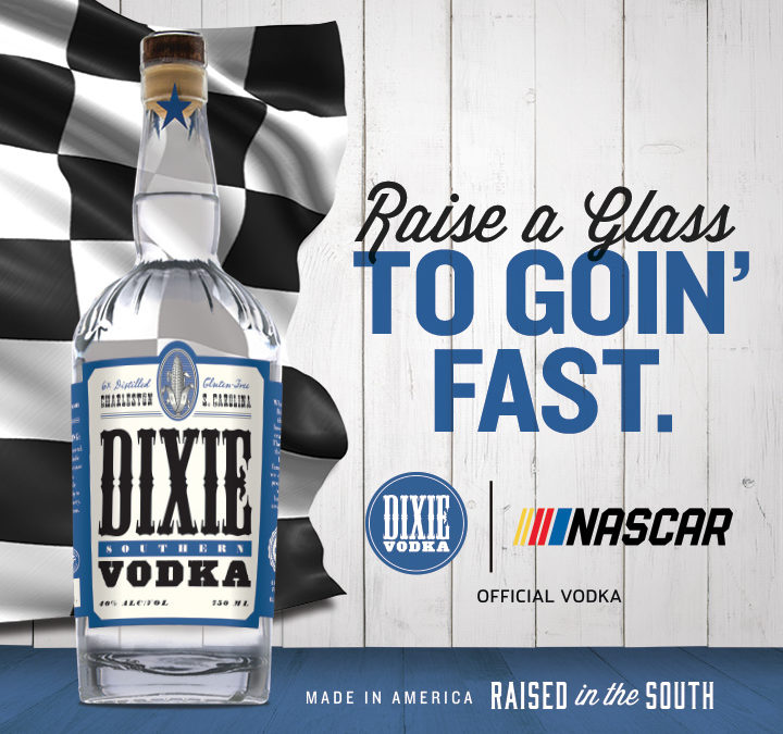 NASCAR, Dixie Vodka Announce Multi-Year Partnership