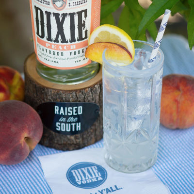 A recipe for success – just add Dixie Peach Vodka!
